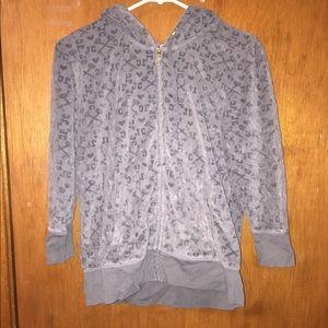 Grey juicy courtier track jacket
